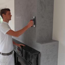 Wand en verftechnieken